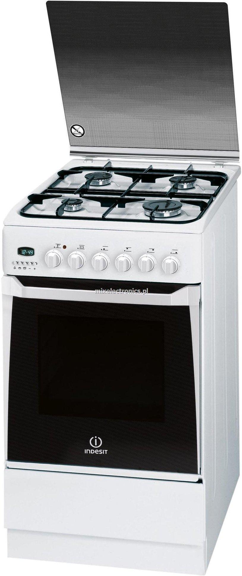 Indesit Kn3 G650 Sa W U Kuchnia Gazowa Rtvagd Sklep Internetowy