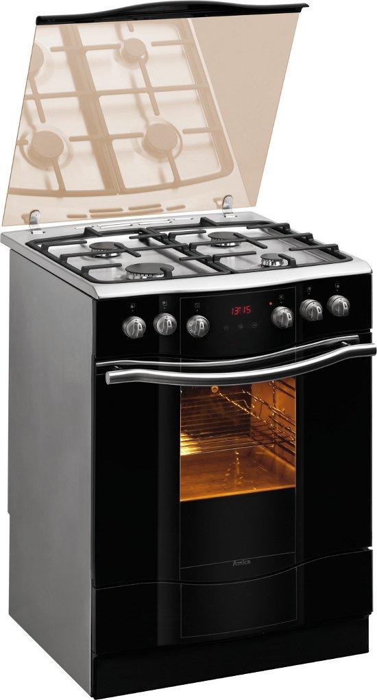 Amica 608GE3 43 ZpTsYKDNA XL Eco  Kuchnia gazowa  RTVAGD   -> Kuchnia Gazowa Amica Regulacja